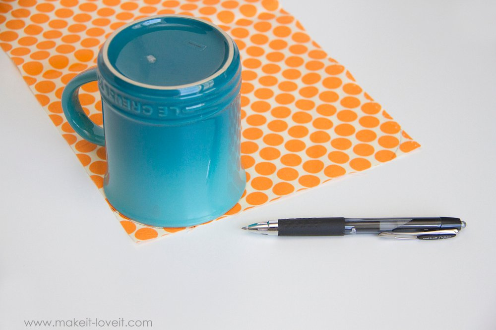 How to make a Double Pot Holder with Hand Pockets 7