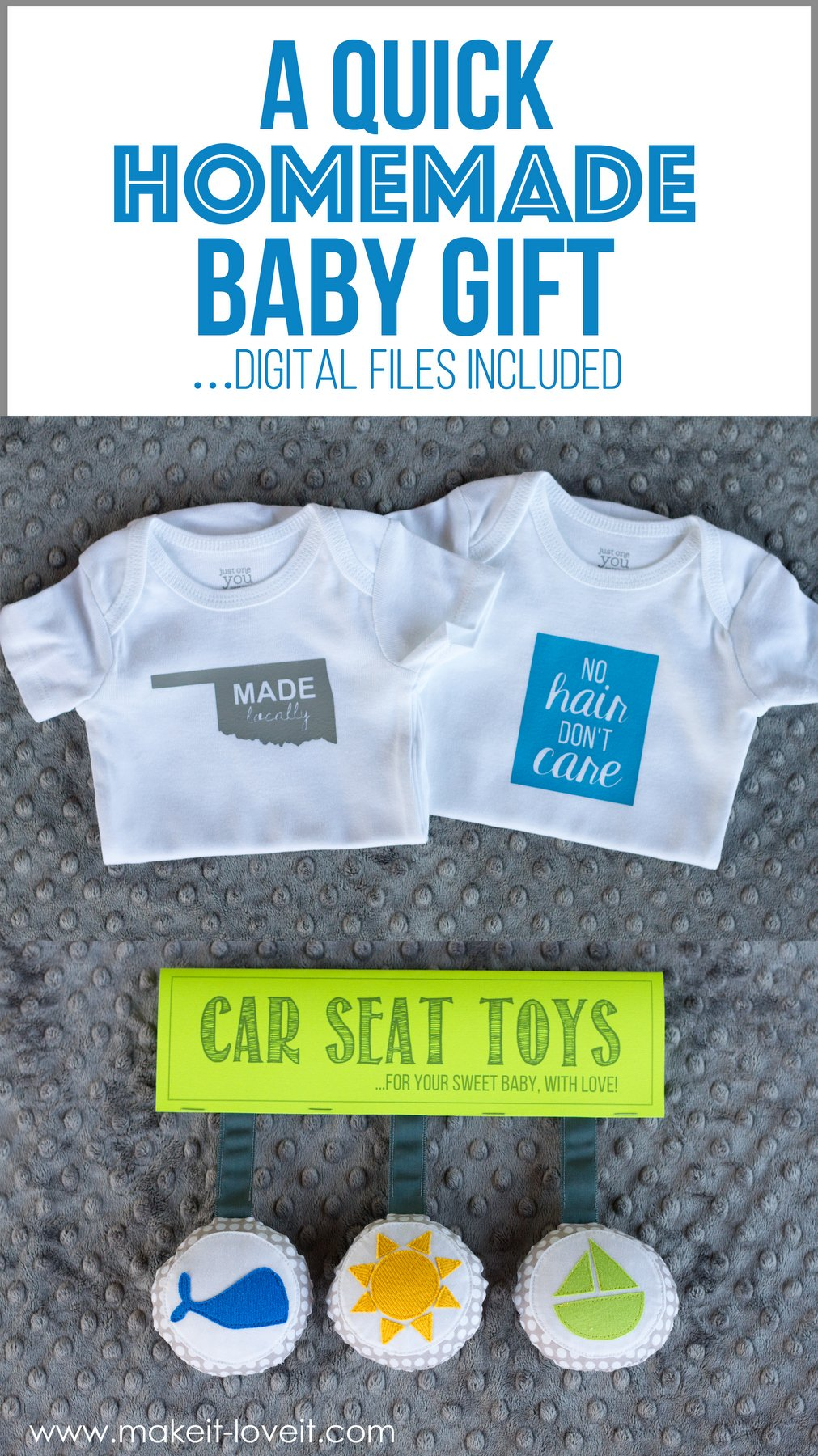 A quick homemade baby gift (…digital files included!)
