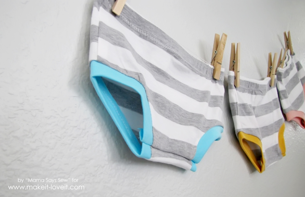 How To Make Easy Knit Shorties | via makeit-loveit.com