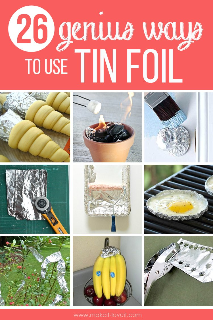 26 GENIUS Ways To Use TIN FOIL...you'll wish you'd have known sooner!!   via makeit-loveit.com