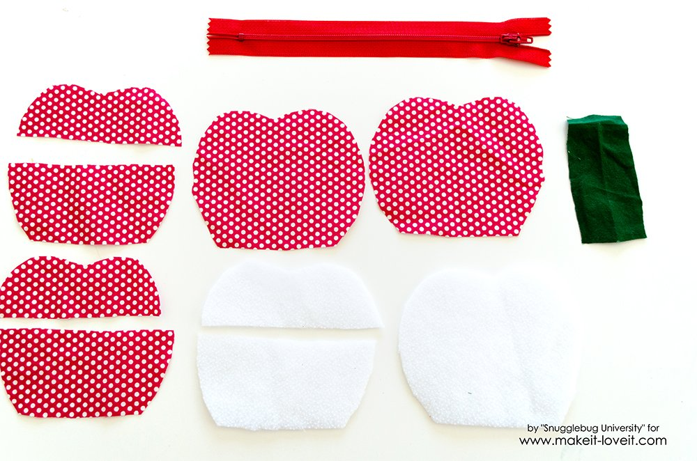 Lunch Money Apple Zippered pouch tutorial (11)