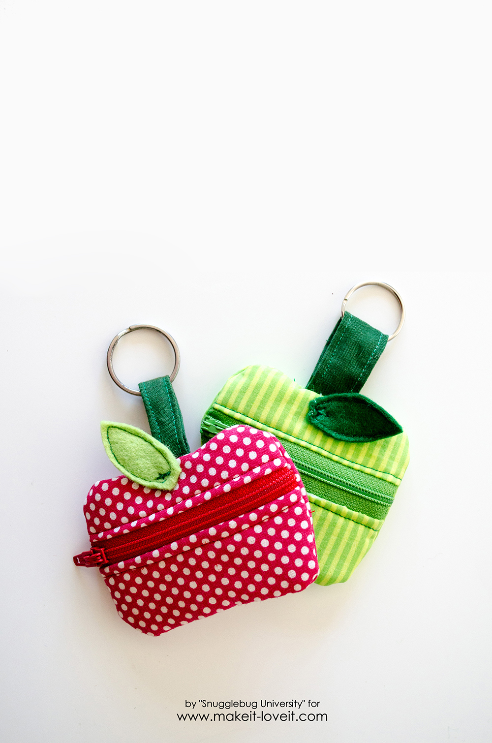 Lunch Money Apple Zippered pouch tutorial (2)