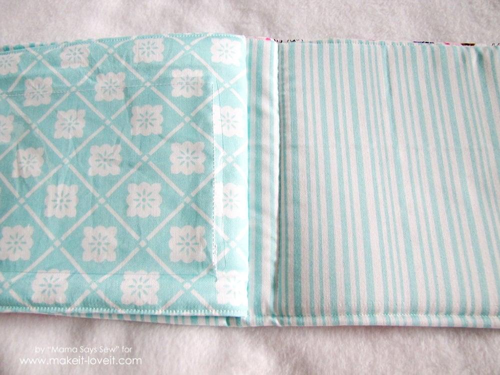 sew a fabric photo album (16)