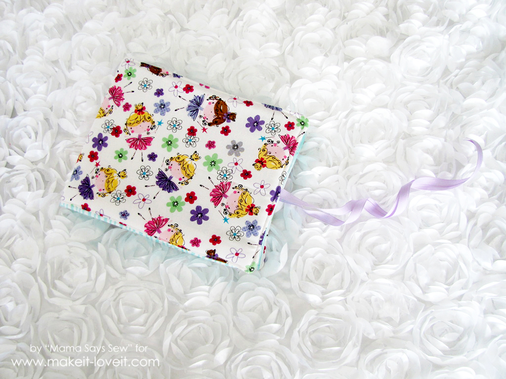 sew a fabric photo album (18)