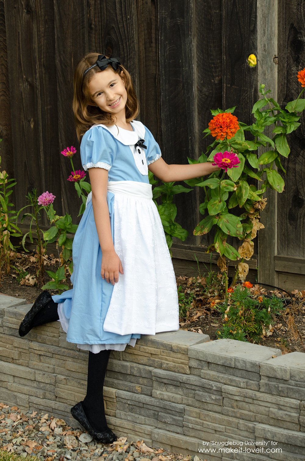 Alice In Wonderland Costumes - For The Whole Family! | via makeit-loveit.com