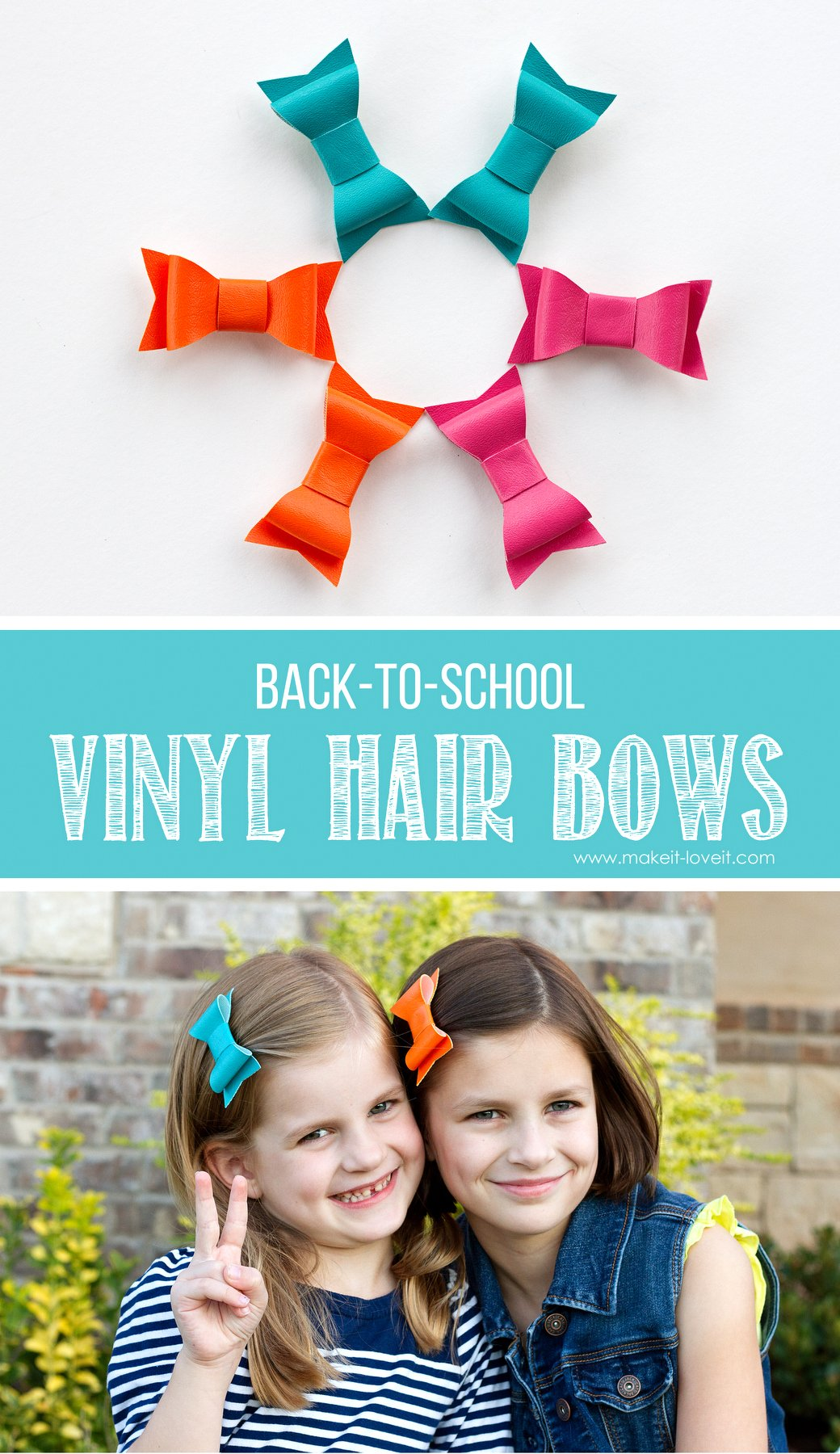 Diy vinyl hair bows…for back-to-school!!