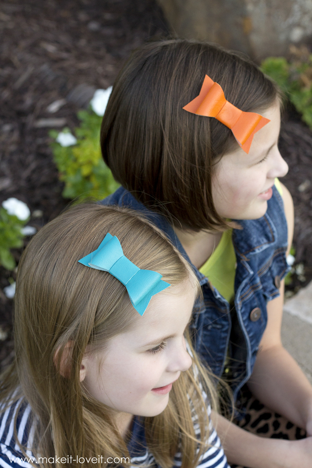 Diy Vinyl Hair Bows For Back To School Make It And