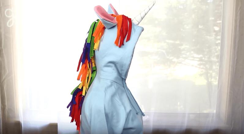 Diy Unicorn Hoodie Costume
