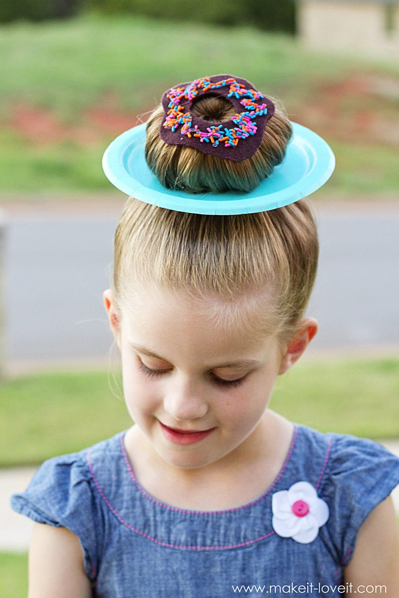"25 clever ideas for ""wacky hair day"" at school!! (…including chloe's wacky hair!)"