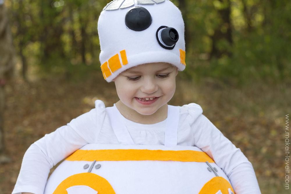 "How to make a ""BB8"" STAR WARS Costume! | via makeit-loveit.com"