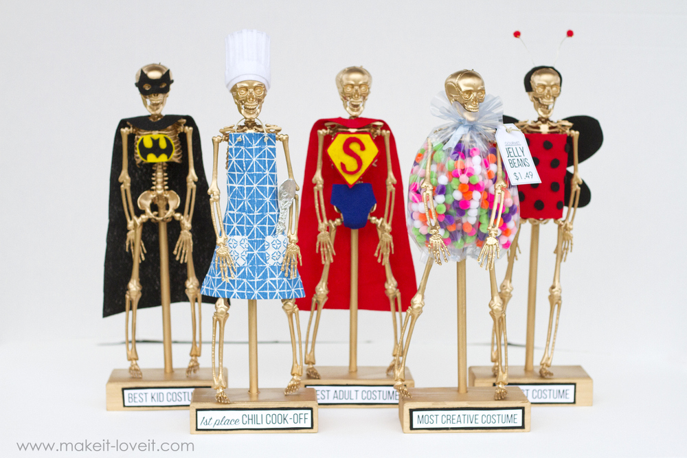 Halloween Costume Award Trophies PART 2 | via .makeit-loveit.com  sc 1 st  Make It and Love It & Halloween Costume Award Trophies PART 2 | Make It and Love It