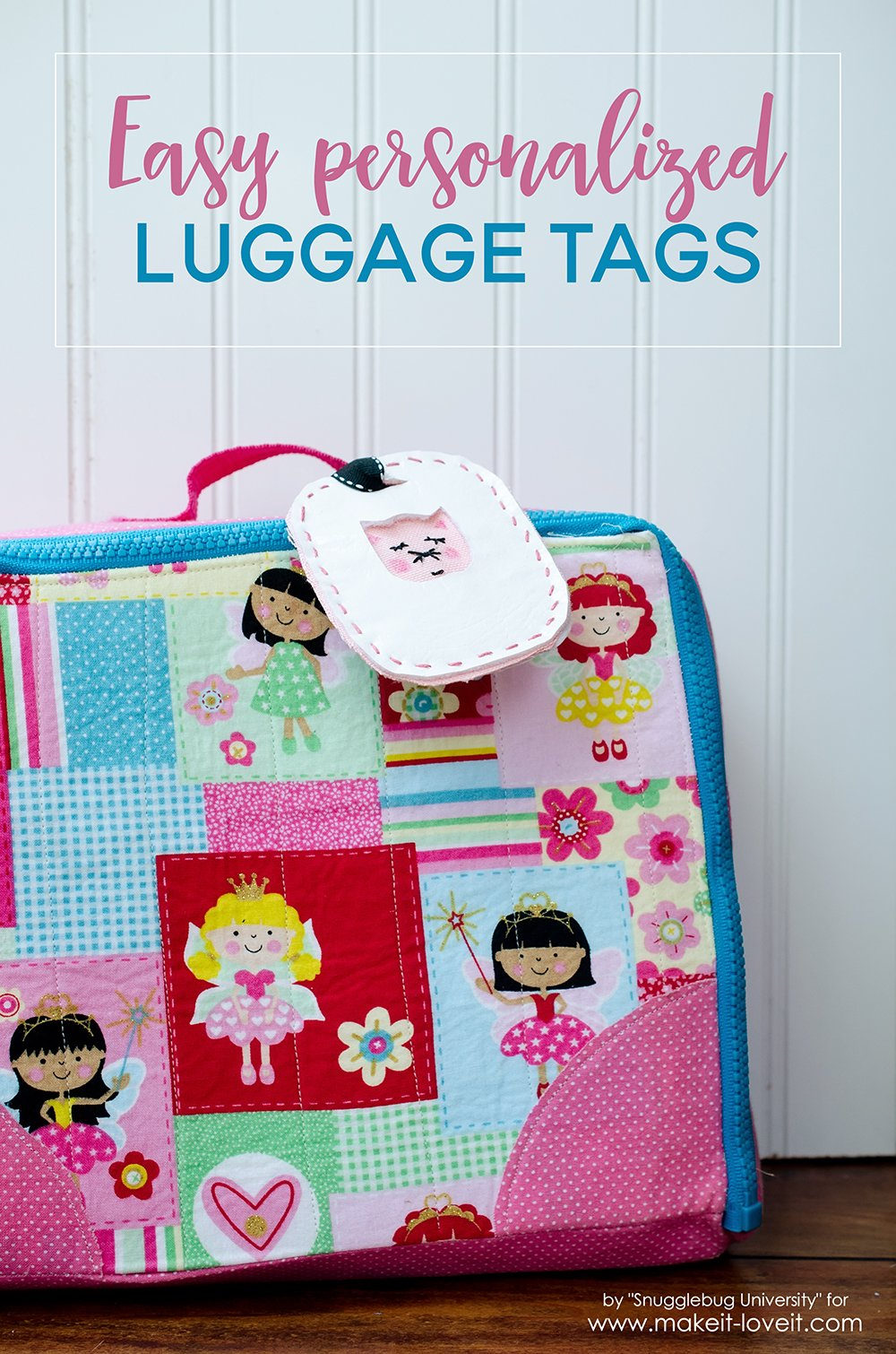 Easy personalized luggage tags
