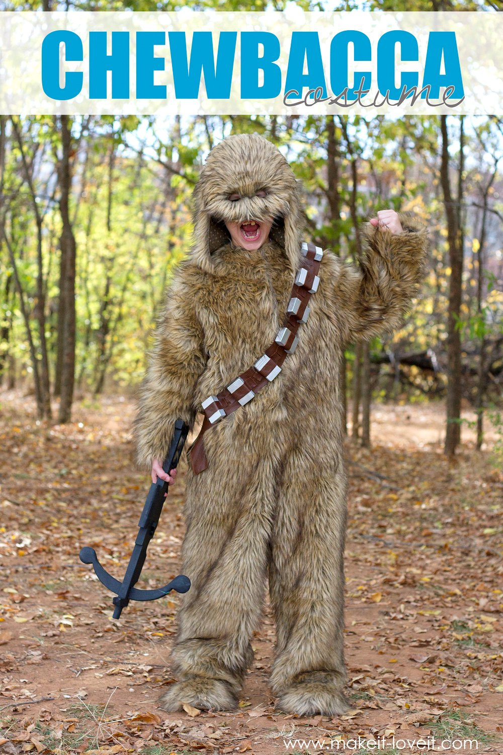 "How to make a ""chewbacca"" star wars costume!"