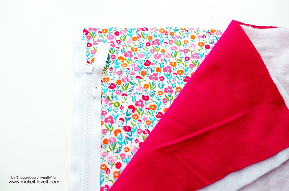 Sew a sleeping bag for an 18 inch doll