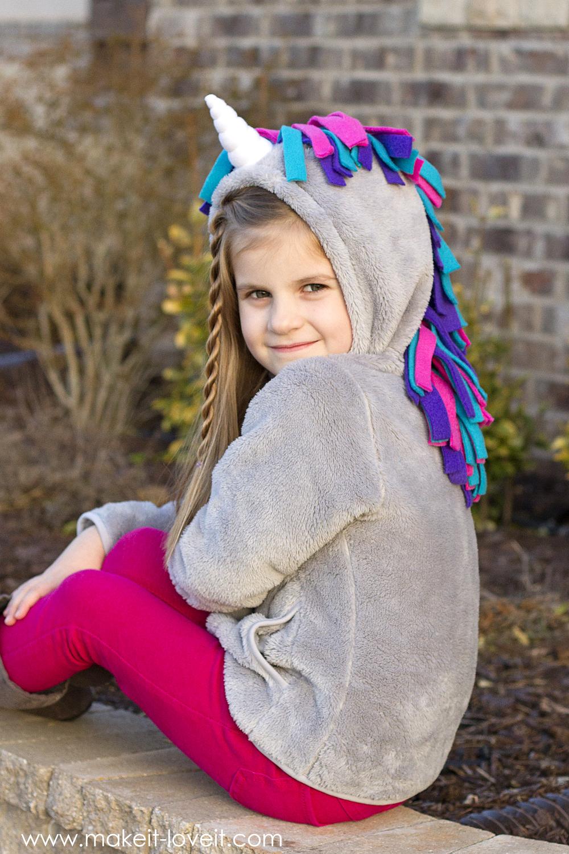 how to make a unicorn hoodie