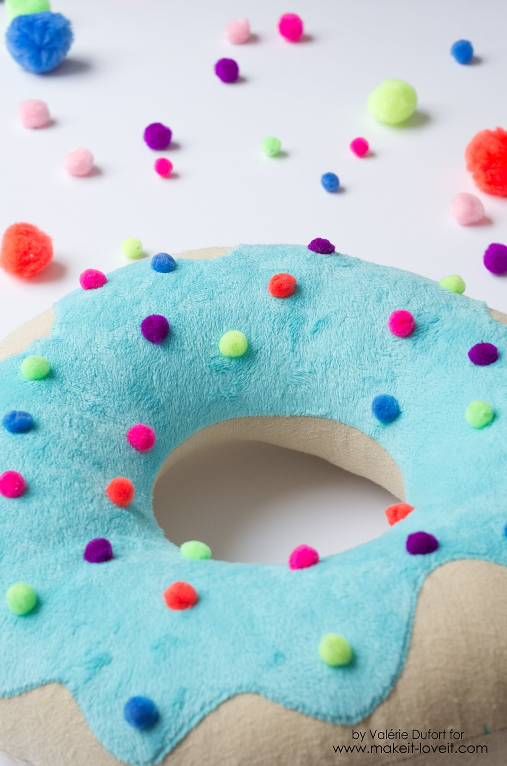 Delicious Donut Pillow Tutorial 2