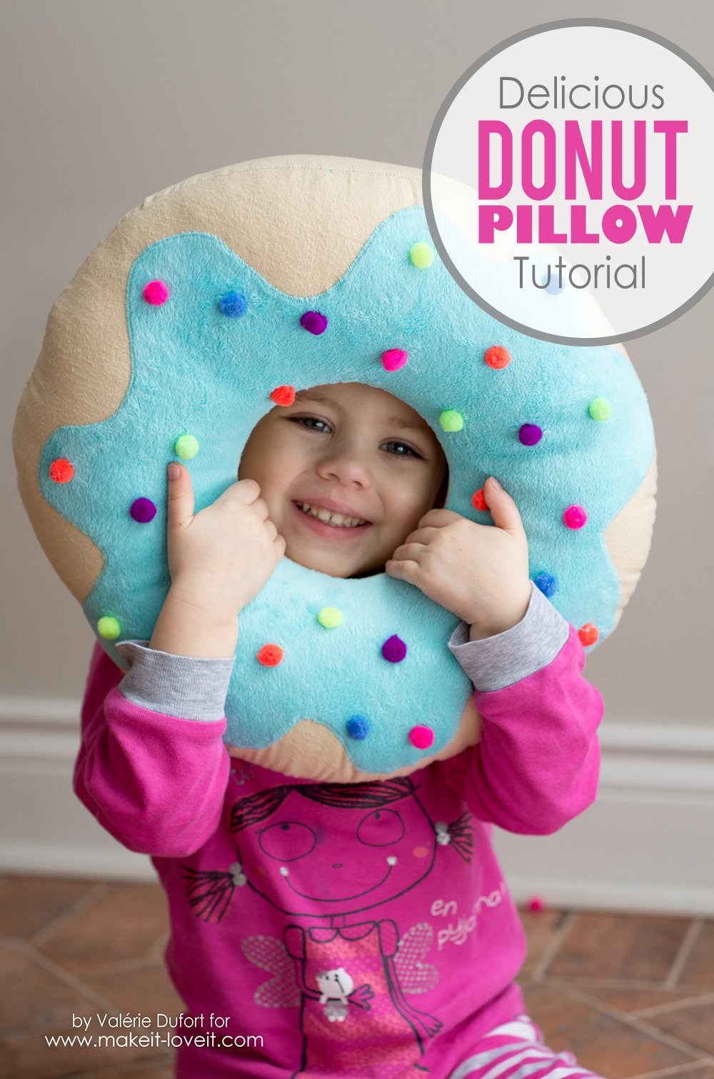 Delicious Donut Pillow Tutorial