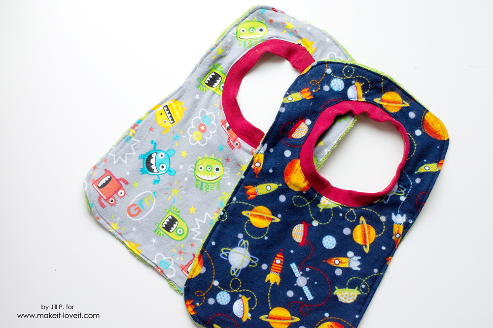 Make a Reversible Baby Bib…in 20 Minutes or Less! – Make It and Love It