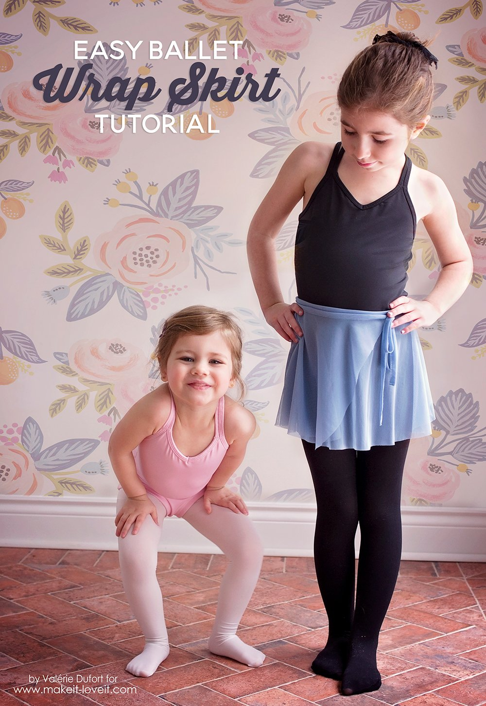 Easy Ballet Wrap Skirt Tutorial