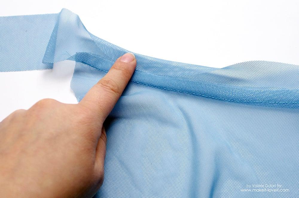 Easy Ballet Wrap Skirt Tutorial 17