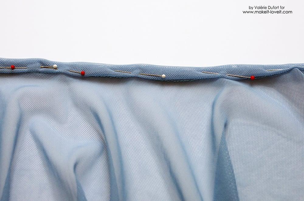 Easy Ballet Wrap Skirt Tutorial 18