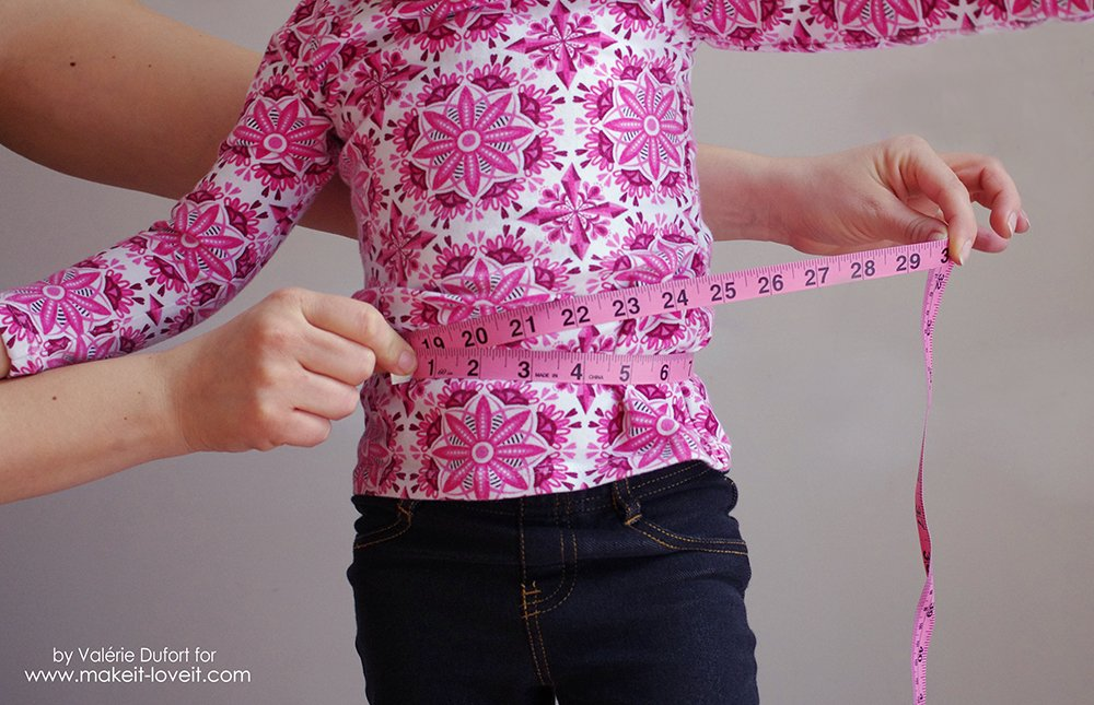 Easy Ballet Wrap Skirt Tutorial 4