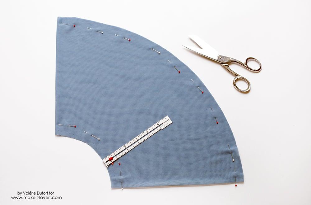 Easy Ballet Wrap Skirt Tutorial 9