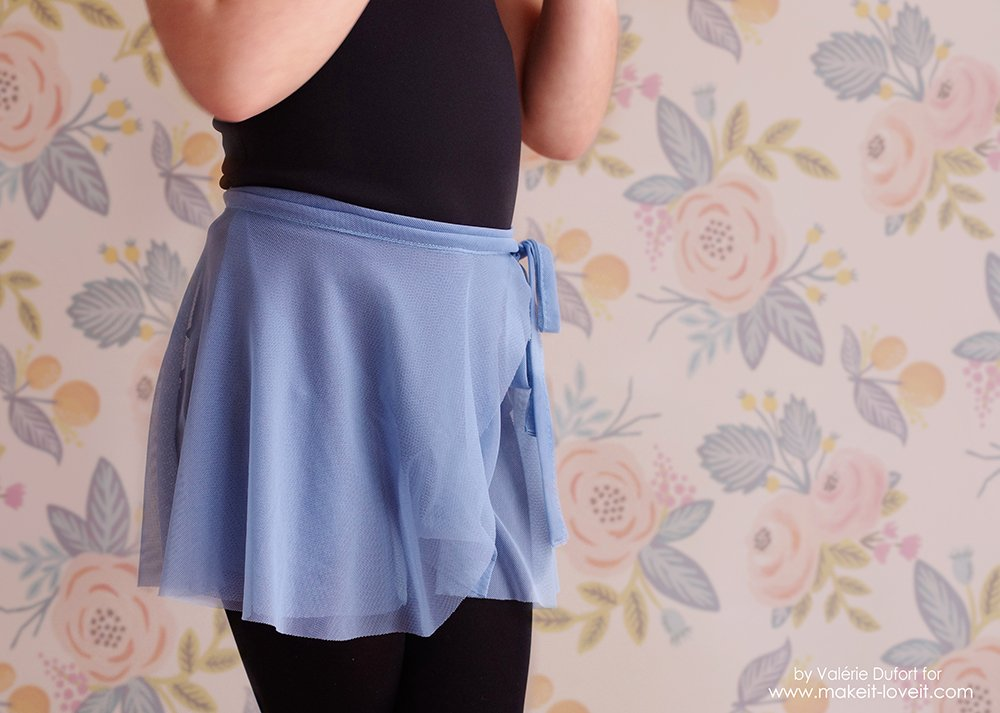 Easy Ballet Wrap Skirt Tutorial Make It And Love It