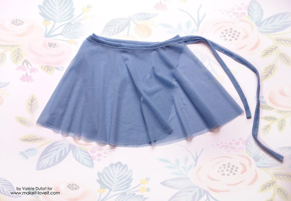 adorable ballet wrap skirt tutorial 4
