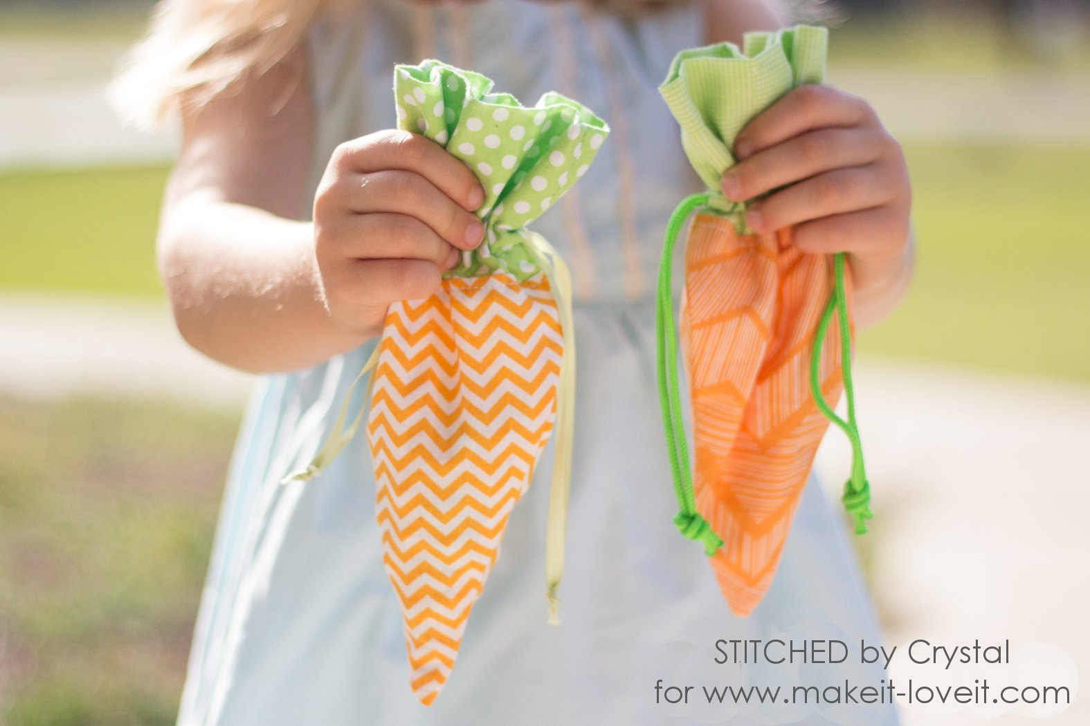 Sew a DIY Carrot Treat Bag for Easter! | via www.ashley1.mystagingwebsite.com