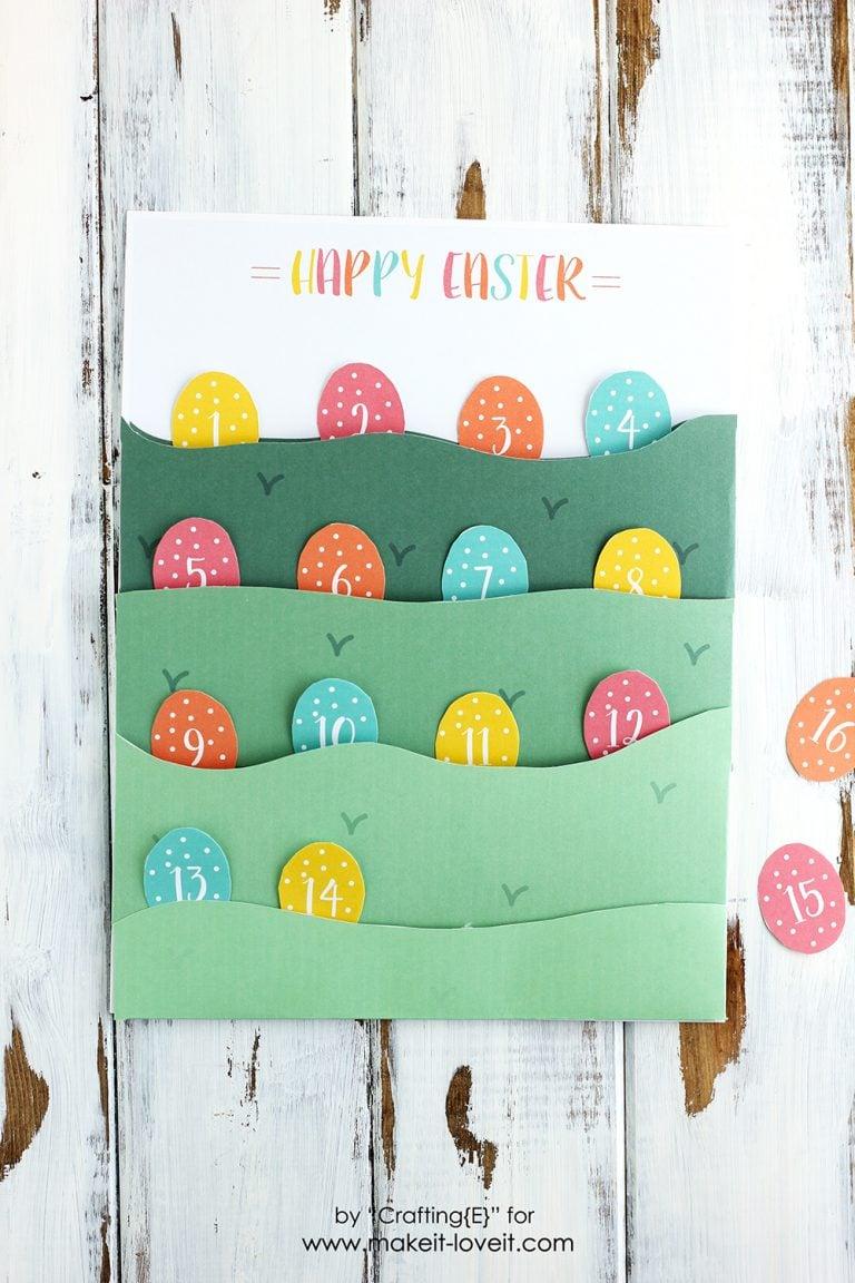 Easter Egg Hunt Countdown By Ashley Johnston