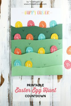 FREE Printable Easter Egg Hunt Countdown