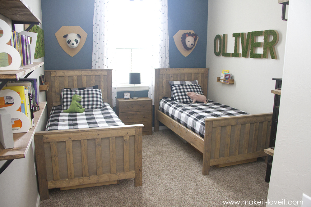 Ideas For A Shared Boys Bedroom Yay All Done Make It And Love It