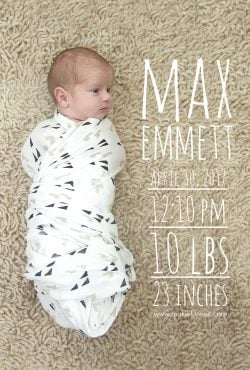Baby Max is HOME!!