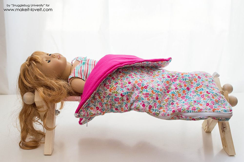 Doll cot tutorial