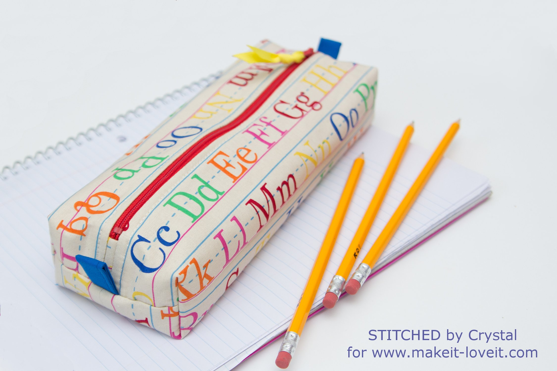 sew a fabric pencil case for back to school make it and love it