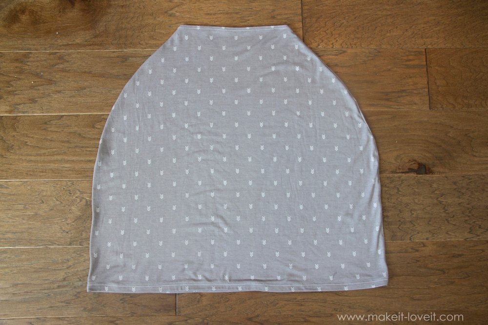 Diy Stretchy Car Seat Cover And Nursing Cover Duo Make It And Love It