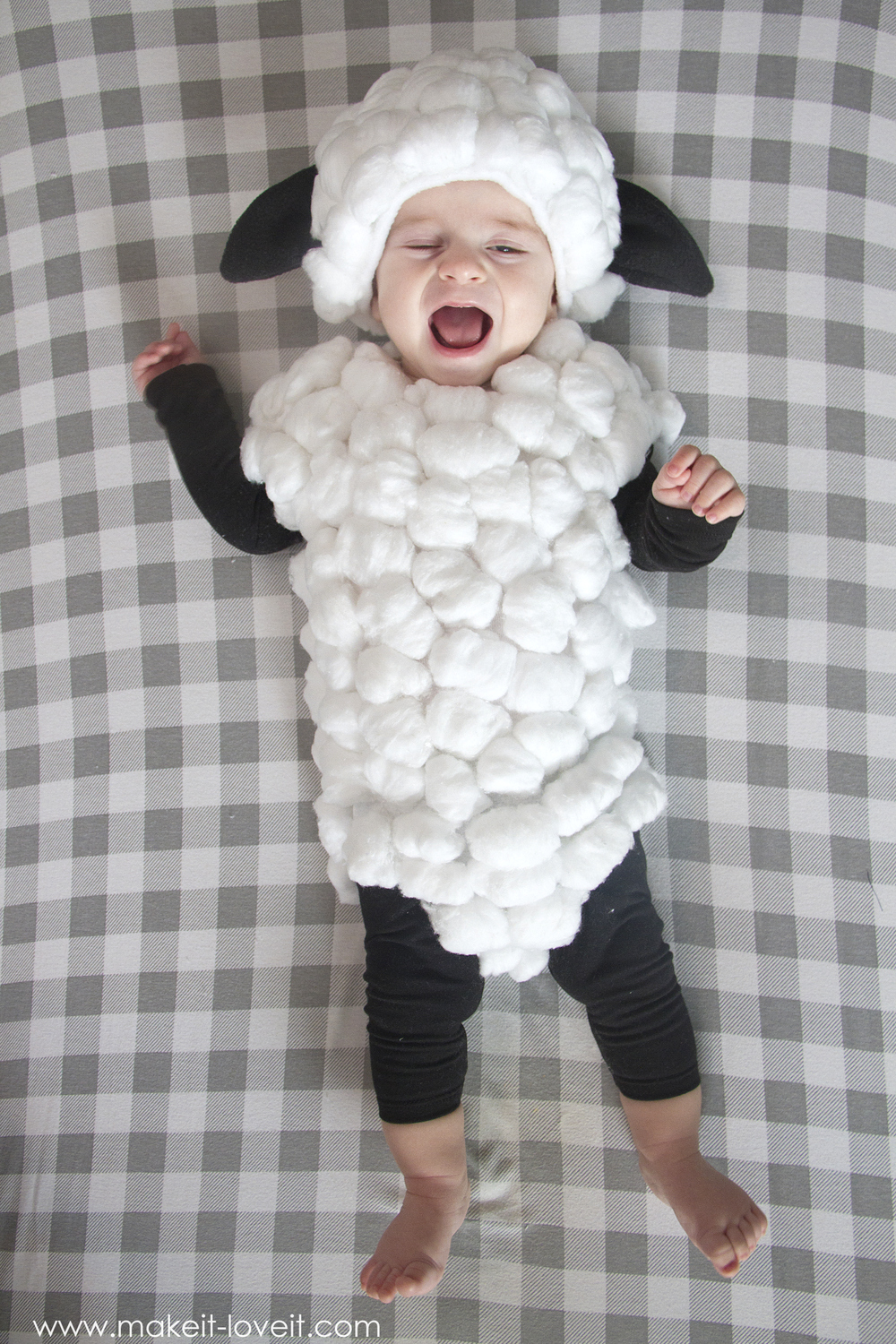 Make A Baby Lamb Costume Simple Tutorial It And Love