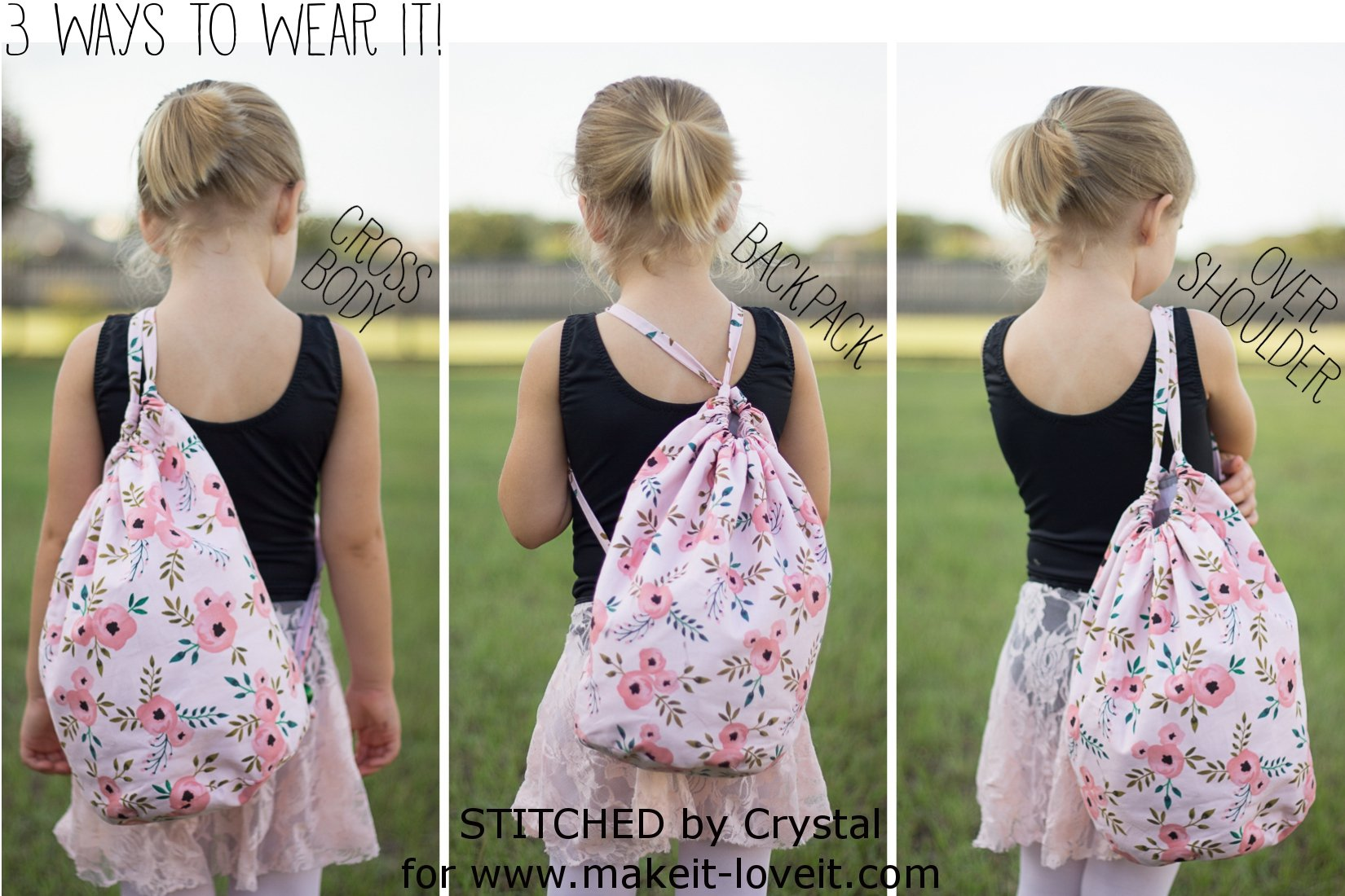 Sew a simple bucket bag