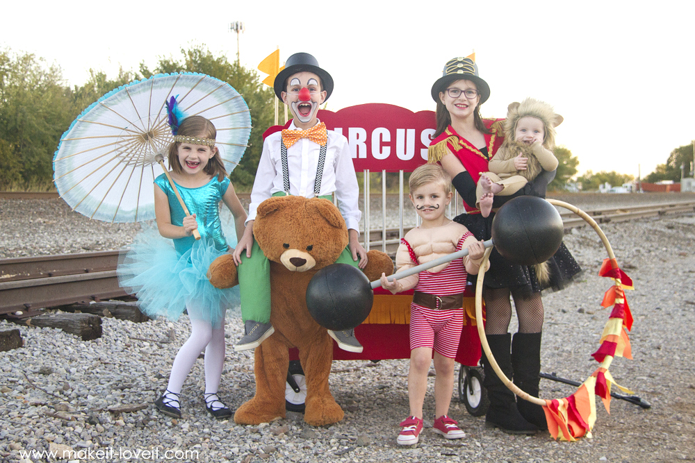 How to make CIRCUS Themed Costumes