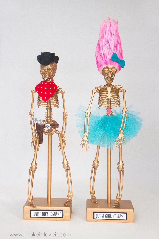 Halloween costume awards - cowboy and troll