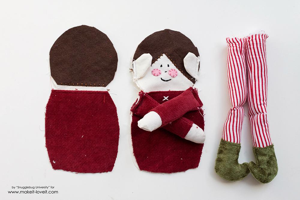 Sew an Elf on a Shelf doll19