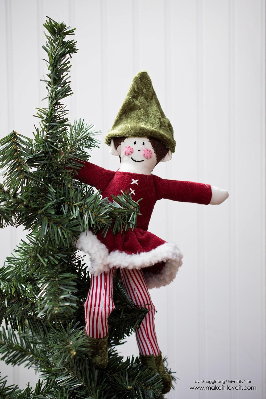 Sew an Elf on a Shelf doll36