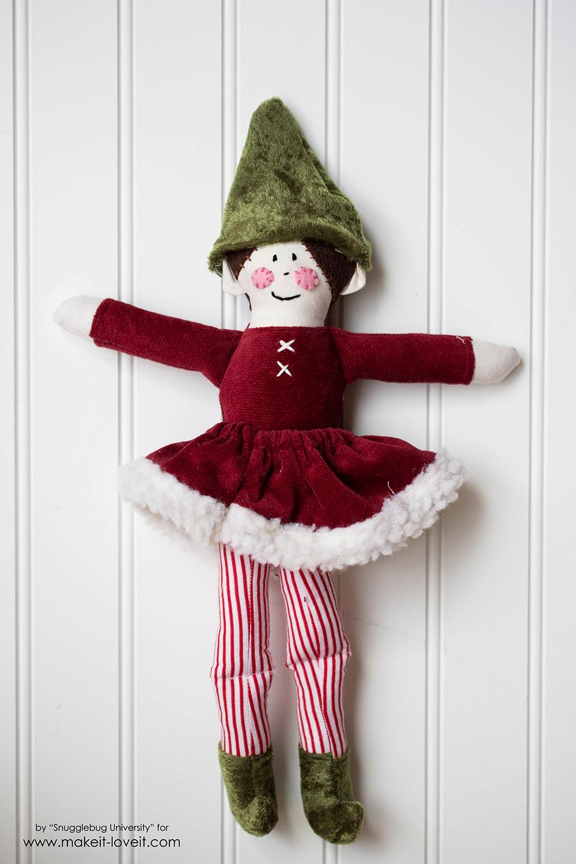 Sew an Elf on a Shelf doll37