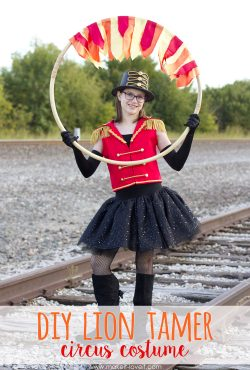 Make a LION TAMER Circus Costume