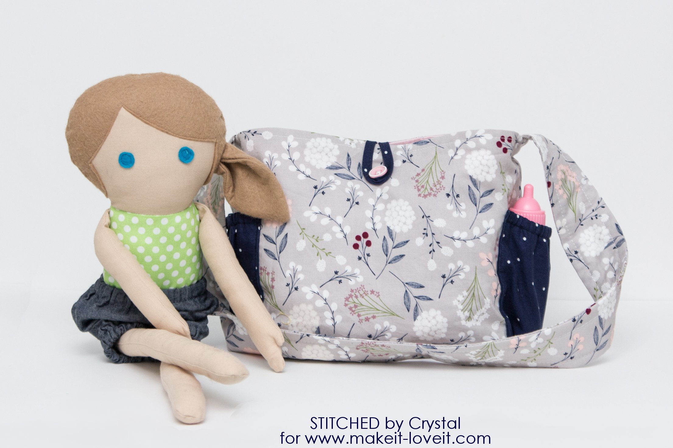 Sew a Doll Diaper Bag – Make It and Love It