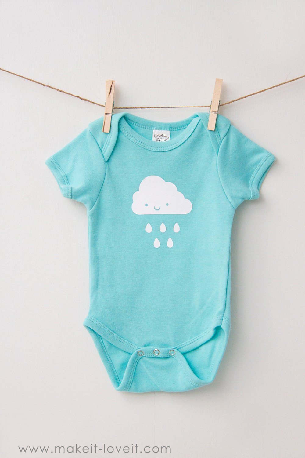 Simple DIY Baby Onesie Ideas – Make It and Love It