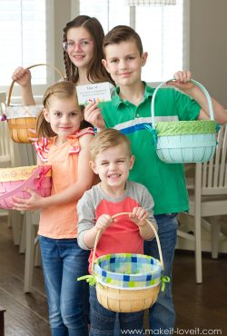 An Easter Egg Scavenger Hunt -- with HATCHIMALS (...printable clues included!!)