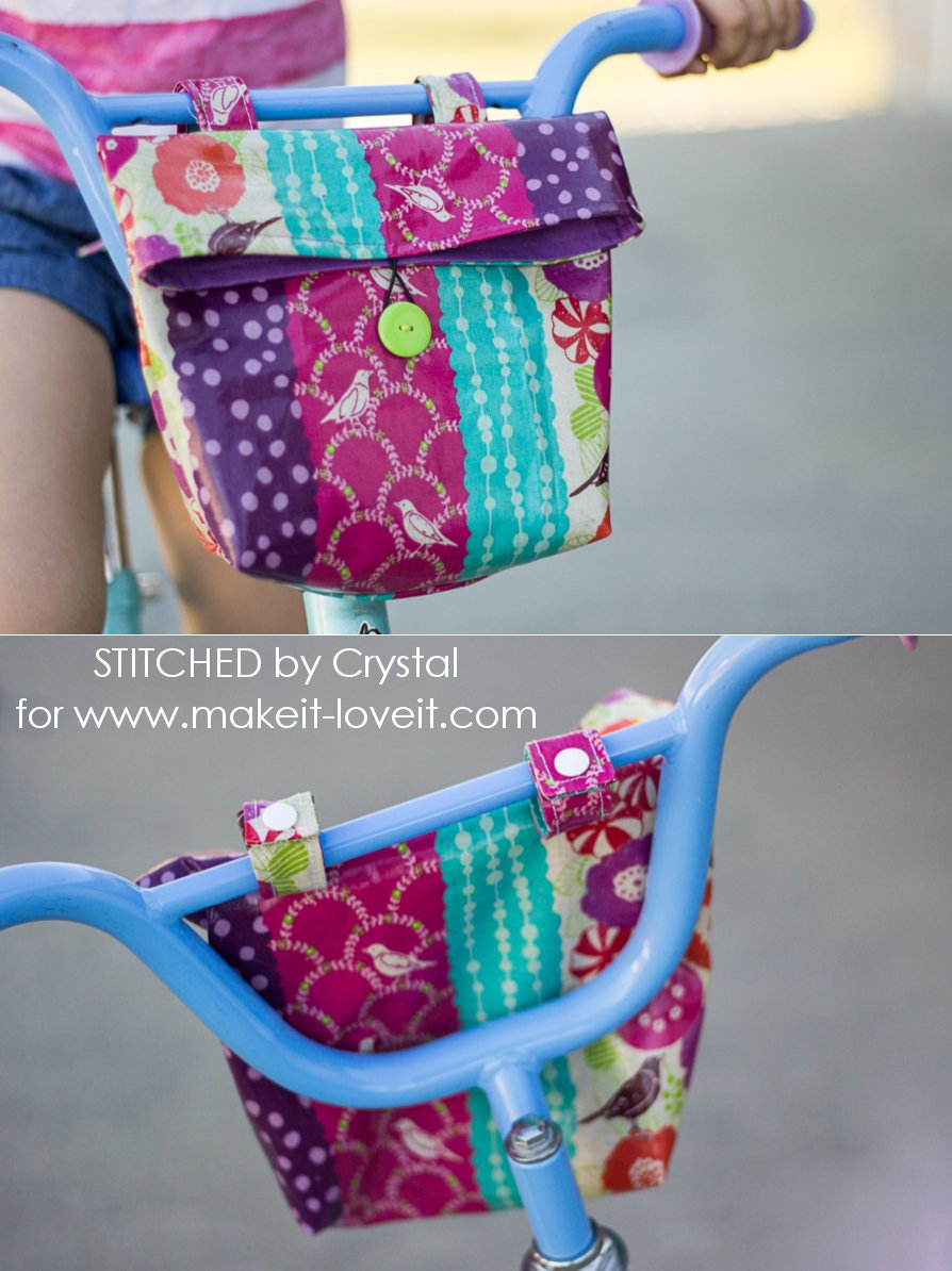 Sew A Handlebar Bag For Your Kid S Bike Make It And Love It