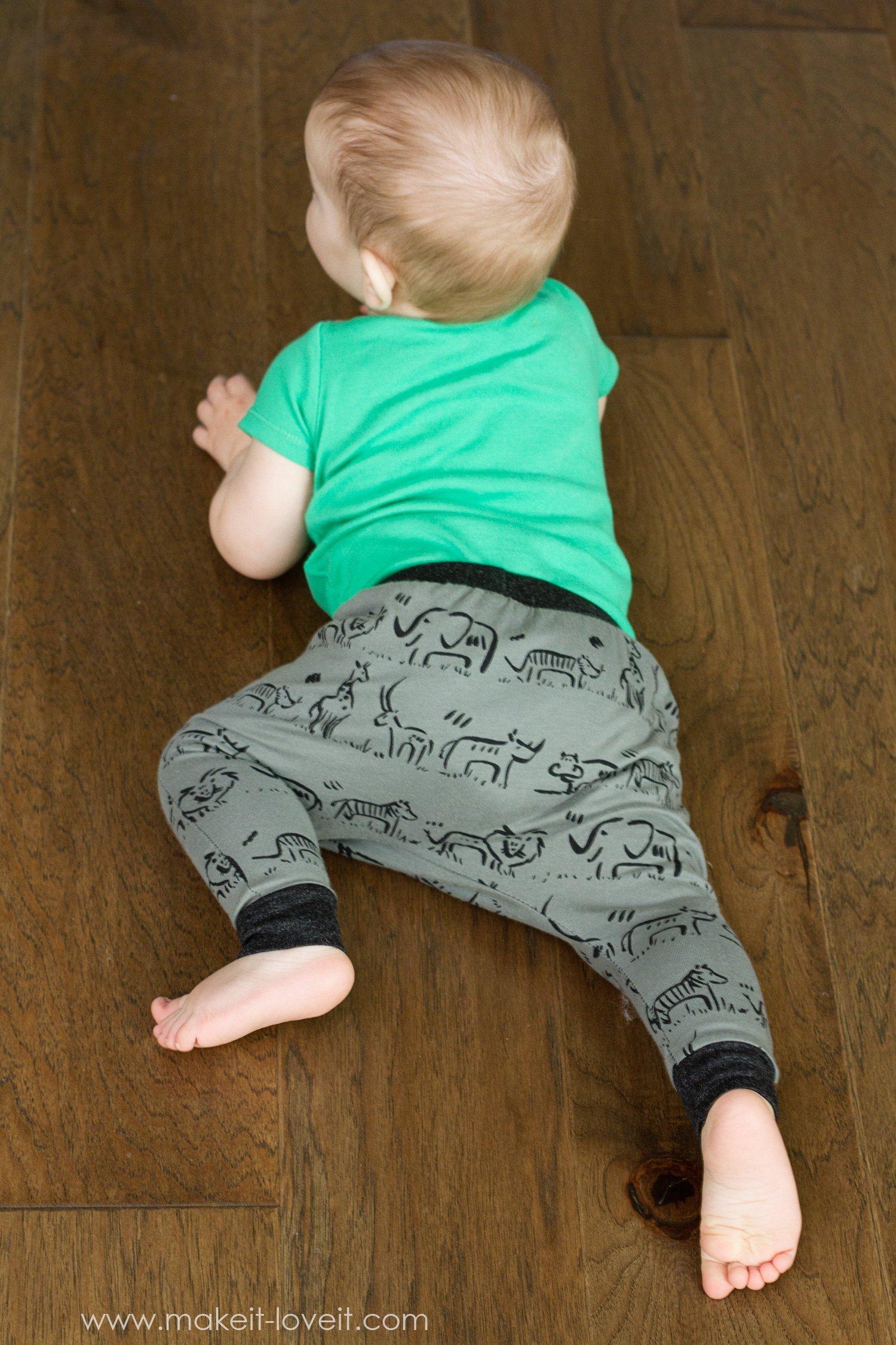 Harem style baby leggings 13